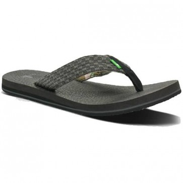 Sanuk Yogi 3 Sandals - Charcoal