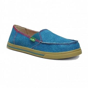 Sanuk Women's Carbrio Breeze Sidewalk Surfers - Marine Blue