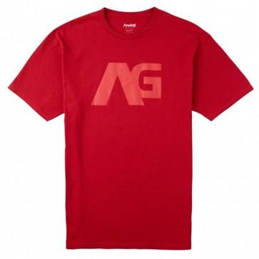 Analog Icon T-Shirt - Cardinal