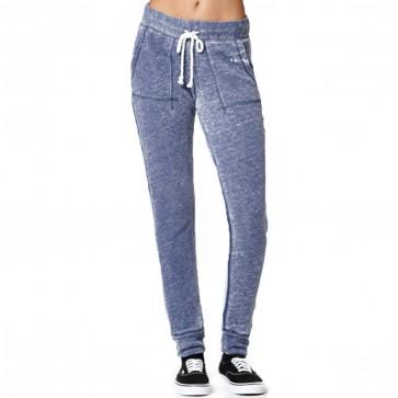 Billabong Women's Wave Down Fleece Pants - Peacoat