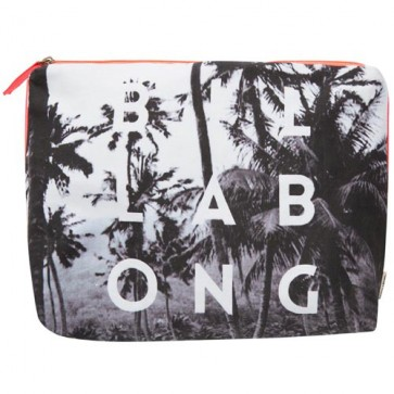 Billabong Women's Take Me There Clutch Bag - Black/White