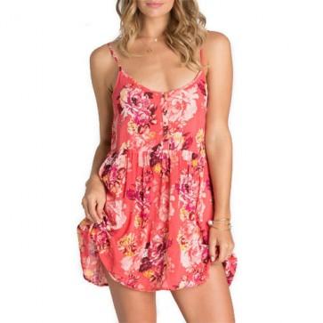 Billabong Women's Lovely Roads Dress - Coral
