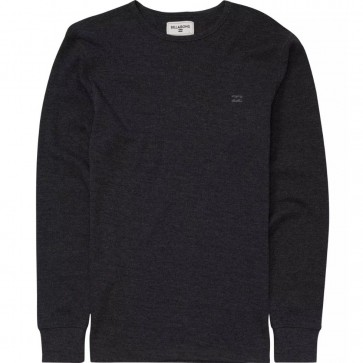 Billabong Essential Long Sleeve Thermal - Black Heather
