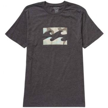 Billabong Team Wave T-Shirt - Black Heather