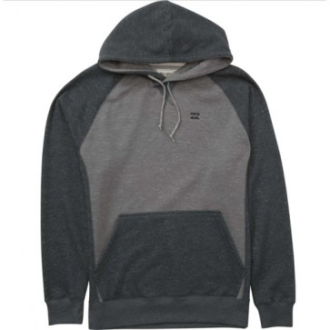 Billabong Balance Pullover Fleece Hoodie - Grey Heather