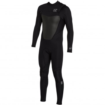 Billabong Foil Plus 4/3 Chest Zip Wetsuit - Black