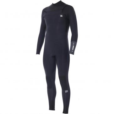 Billabong Revolution 4/3 Chest Zip Wetsuit - Black