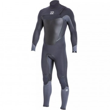Billabong Absolute X 4/3 Chest Zip Wetsuit - Graphite