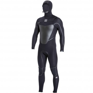 Billabong Absolute X 5/4 Hooded Wetsuit - Black