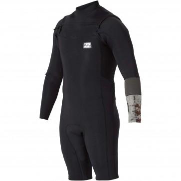 Billabong Revolution Tri-Bong 2mm Long Sleeve Spring Suit - Black