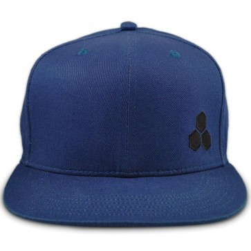 Channel Islands Hex Snapback Hat - Navy