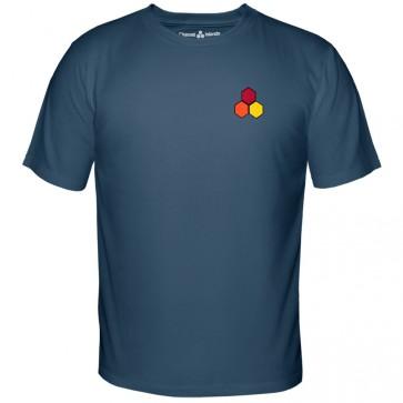 Channel Islands Curren OG Hex T-Shirt - Indigo