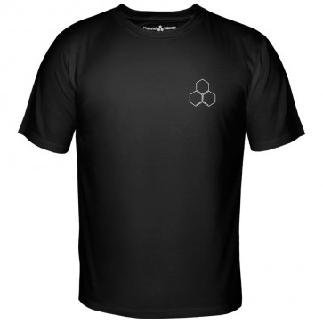 Channel Islands Clear Hex T-Shirt - Black