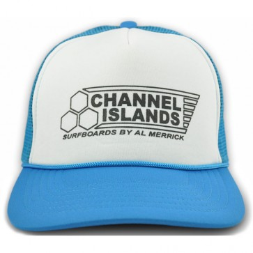 Channel Islands Flag Trucker Hat - Ocean Blue