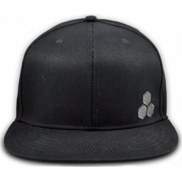 Channel Islands Hex Snap Back Hat - Black