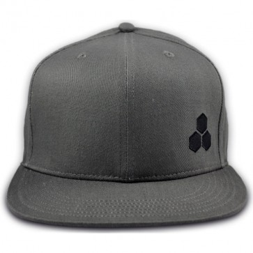Channel Islands Hex Snap Back Hat - Light Grey