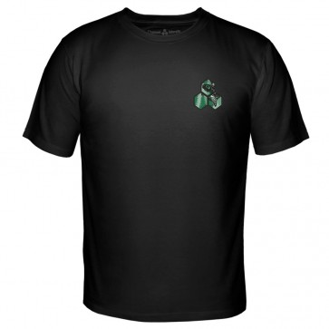 Channel Islands Salmon Hex T-Shirt - Black