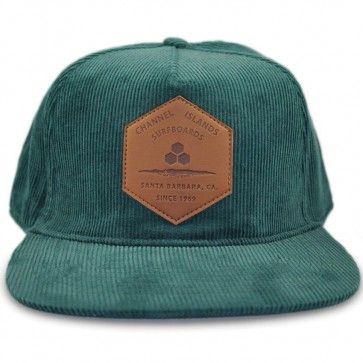 Channel Islands Ranch Hex Cord Hat - Forest Green