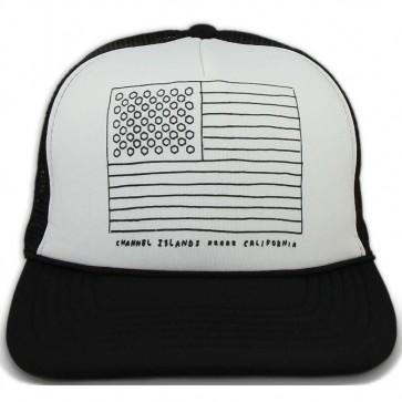 Channel Islands Almerica Trucker Hat - White/Black