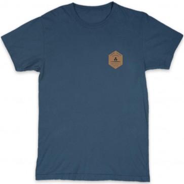 Channel Islands Ranch Hex T-Shirt - Indigo
