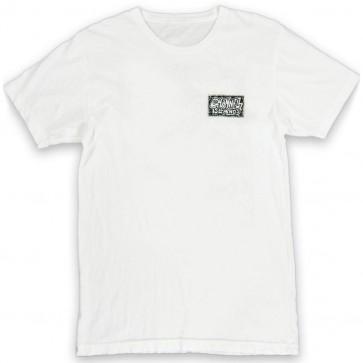 Channel Islands Hand Drawn T-Shirt - Bone White