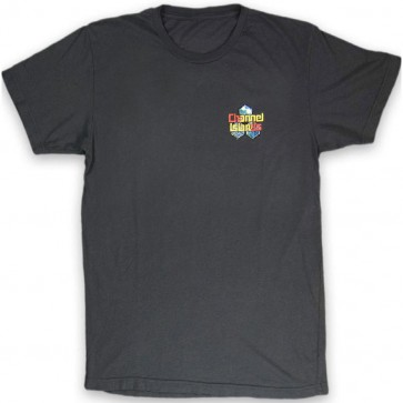 Channel Islands Water Color Hex T-Shirt - Black Washed