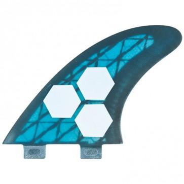 Channel Islands Fins - Tech 3 Large - Blue/Carbon