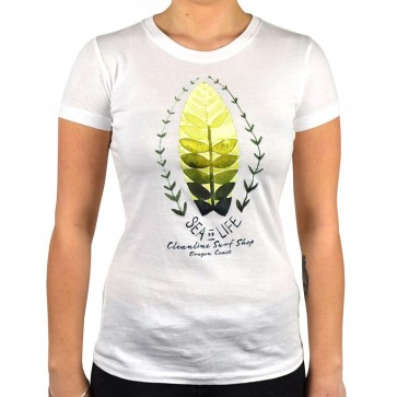 Cleanline Women's Sea Of Life Top - White