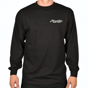 Cleanline Speed Diamond Long Sleeve T-Shirt - Black