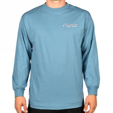 Cleanline Speed Diamond Long Sleeve T-Shirt - Slate