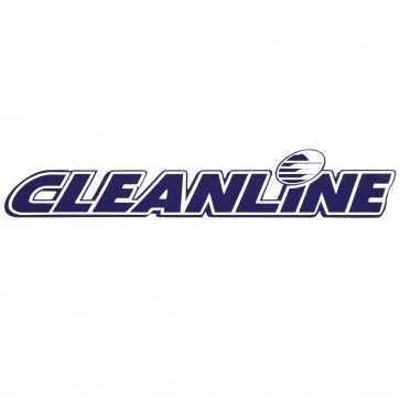 Cleanline Surf Logo Die Cut Sticker - Blue