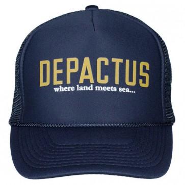 Depactus Wordmark Trucker Hat - Navy