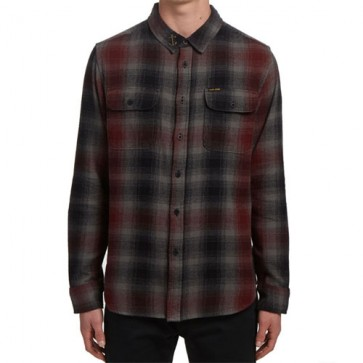 Dark Seas Buster Flannel - Black