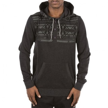 Element Native Cornell Pullover Henley - Charcoal Heather