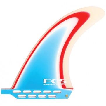 FCS Fins 7.5'' Delpero - Red/White/Blue