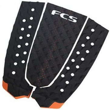 FCS Essential Series T3 Traction - Black/Orange