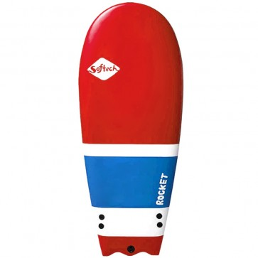 Softech Surfboards - 52'' Rocket Softboard - Red/White/Blue
