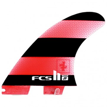 FCS II Fins JF PG - Black/Red