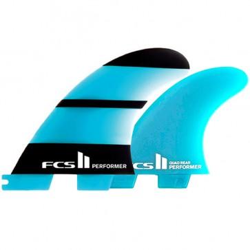 FCS II Fins Performer Neo Glass Medium Quad Fin Set