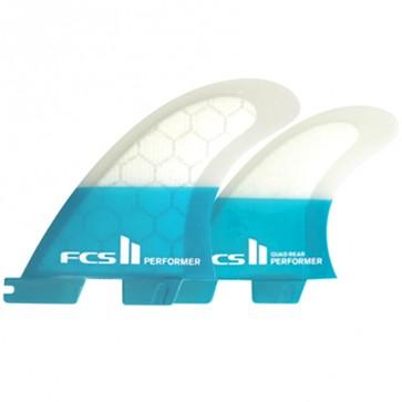 FCS II Fins Performer PC Medium Quad Fin Set