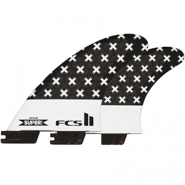 FCS II Fins SB PC Large Tri-Quad Fin Set