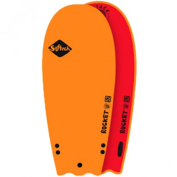 Softech Rocket Attack Softboard - Orange