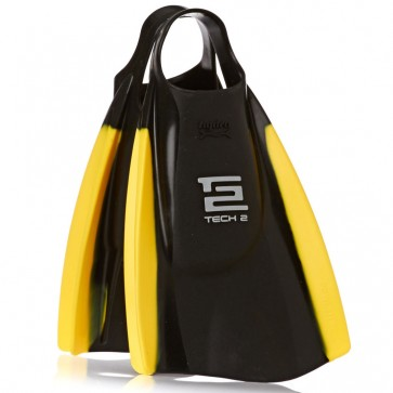 Hydro Tech 2 Swim Fins - Black/Yellow