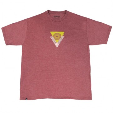 Firewire Surfboards Tomo Inspirer T-Shirt - Burgundy Heather