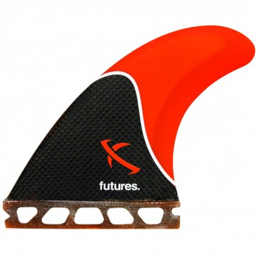 Futures Fins Lost Thruster - Red/Carbon