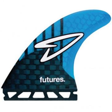 Futures Fins Roberts Generation - Carbon/Cyan