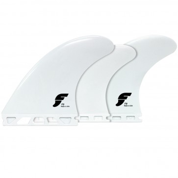 Futures Fins F8 Tri-Quad Thermotech - White