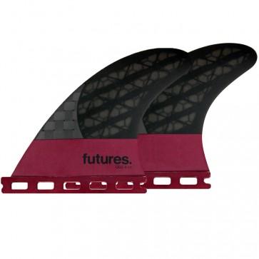 """Futures Fins QD2 4.15"""" Blackstix 3.0 - Violet"""