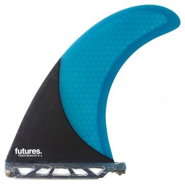 Futures Fins - 9'' Performance X - Blue/Carbon