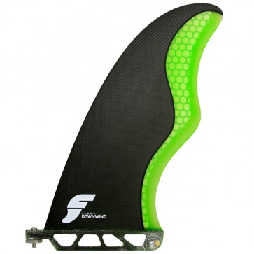 Futures Fins - 10'' HI Downwind SUP Fin - Carbon/Green